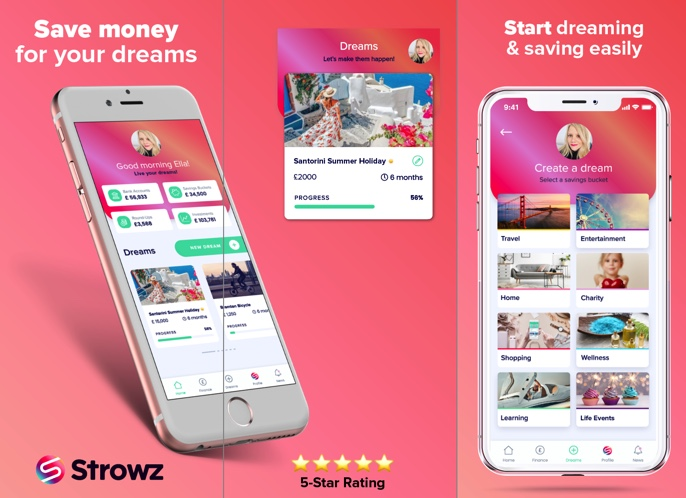 Perfect time to create your home sanctuary on Strowz App! 🌈 Make your savings buckets a reality & stay safe home.