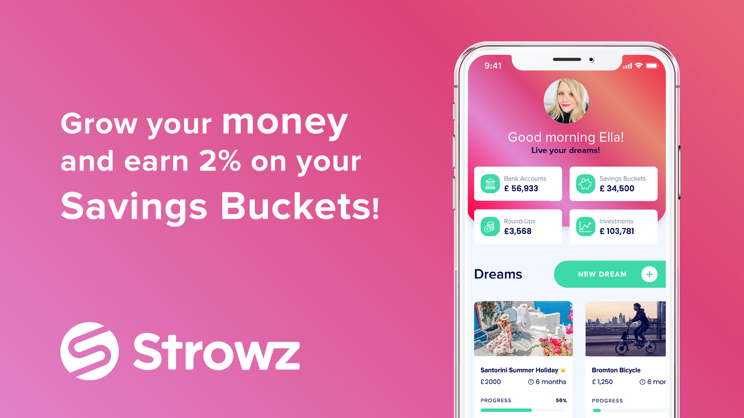 Strowz crowdfunding campaign is now live and overfunding at 120% on Seedrs!